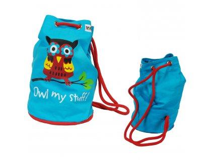 Detský batoh Lazy One - Owl My Stuff