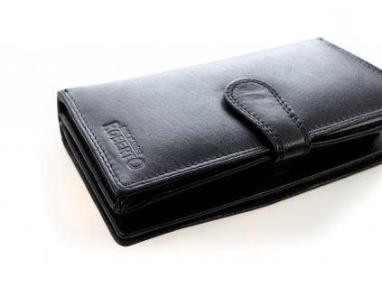 Pánska veľká peňaženka -čierna