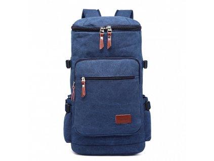 Pánsky outdoorový vysoký batoh - modrý