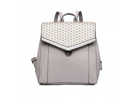Dizajnový luxusný batoh - sivý