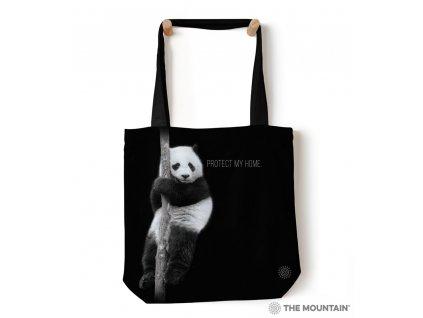 Taška na rameno Zachráňte druh - Panda