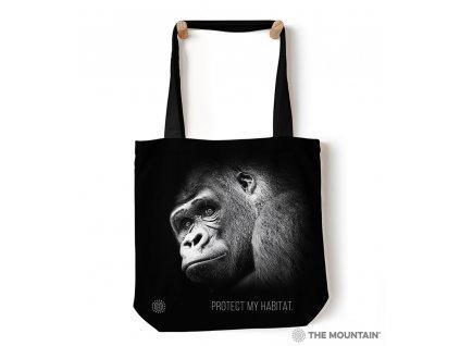 Taška na rameno Zachráňte druh - Gorila