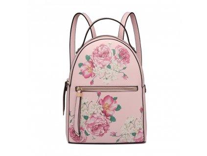 Dizajnový batoh Rosalinda - ružový