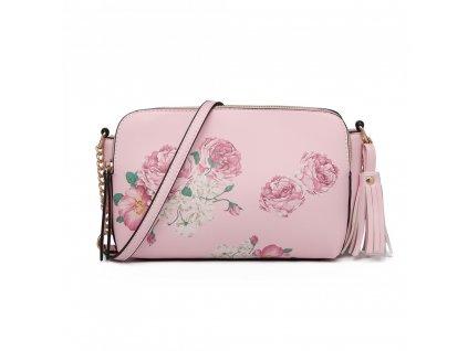 Crossbody kabelka - Rosalinda - ružová