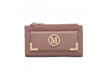 Luxusná dámska peňaženka Melinda - ružová