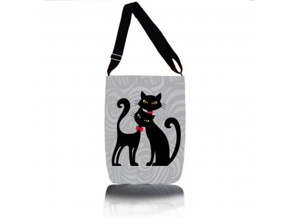 Kabelka cez rameno - Cats In Black