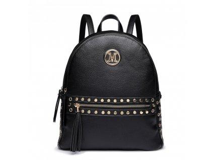 Štýlový dámsky batoh Melinda - čierny