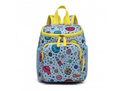 Rozkošný detský batôžtek pre chlapcov - modrý