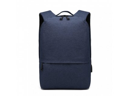 Chytrý batoh s USB portem - Knap - modrý