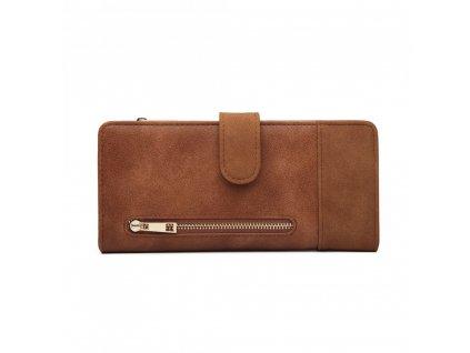 Dámska peňaženka Poppy - hnedá