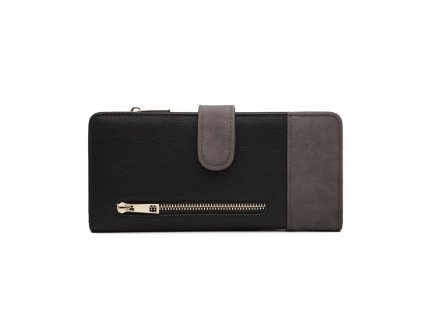 Dámska peňaženka Poppy - čierno-sivá