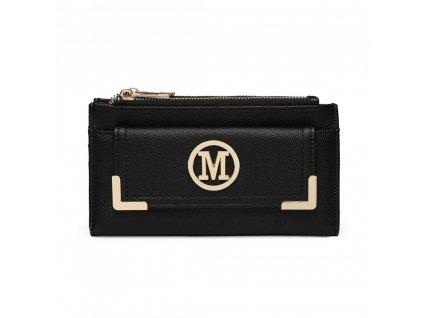 Luxusná dámska peňaženka Melinda - čierna