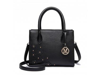 Elegantná kabelka Romantic - čierna