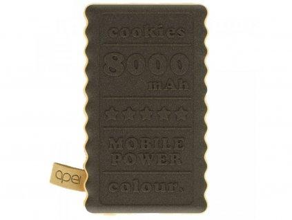 Powerbanka Apei Cookie 8000mAh Hnedá
