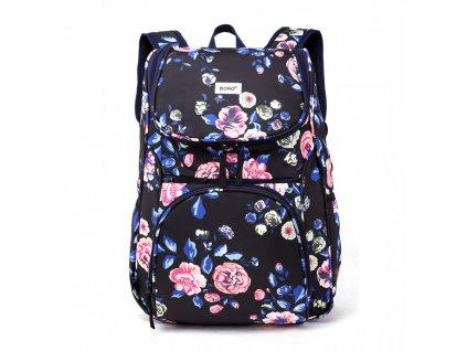 Školský batoh - Rose - s peňaženkou a peračníkom - námornícka modrá