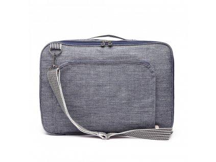 Multifunkčná pánska cestovná taška/batoh - modrá