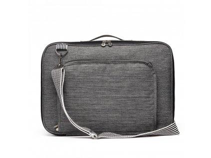 5a891f1d2c Multifunkčná pánska cestovná taška batoh Oxford - šedá