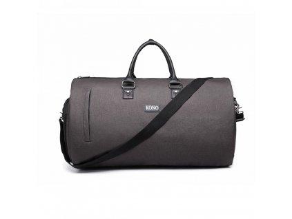 0b42ee1104 Cestovná skladacia taška na oblek - šedá