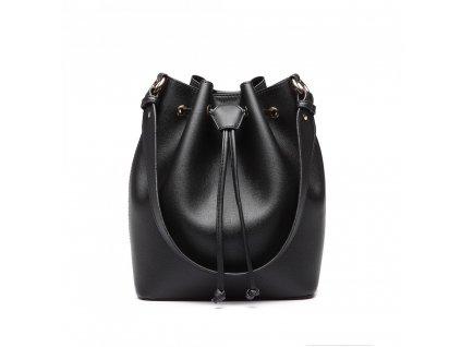 Sofistikovaná čierna kabelka Adel