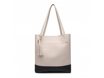 Dámska bledo sivá kabelka Bali da434dadfed