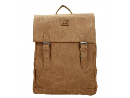 Dámsky štýlový batoh Enrico Benetti - Camel