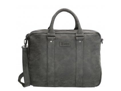 Pánska biznis taška na notebook Enrico Benetti - čierna