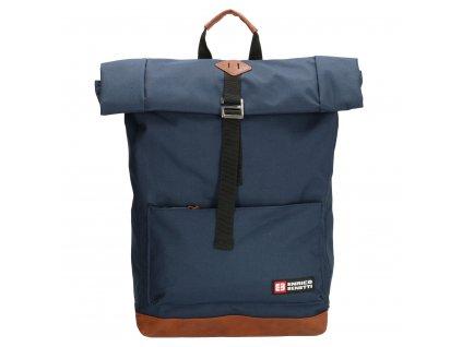 Unisexový batoh messenger Enrico Benetti - Modrý