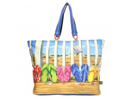 Taška Maxi Shopper - Plážové žabky