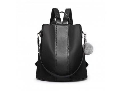 Dámsky elegantný batoh Limba - čierna