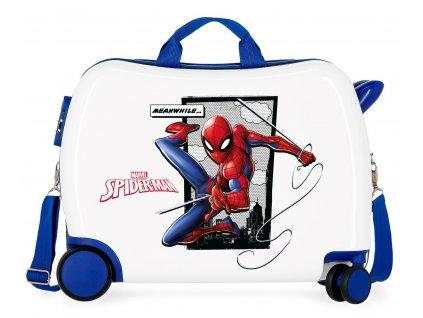 Dětský kufřík na kolečkách - odražedlo - Marvel - Spiderman