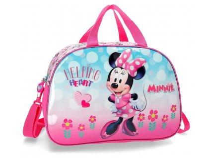 Cestovná taška Minnie Heart