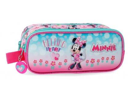Dvojkomorový peračník Disney Minnie Heart