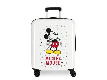 Štýlový kufor na koliesklach Mickey Style