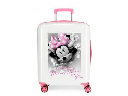 Štýlový kufor na koliesklach Minnie s Láskou
