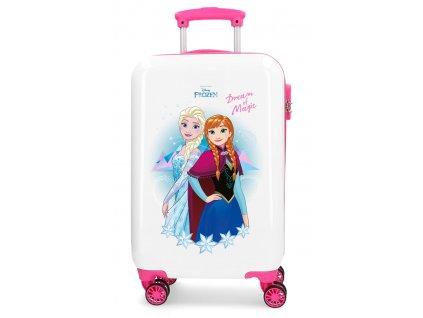 Štýlový kufor na koliesklach Frozen