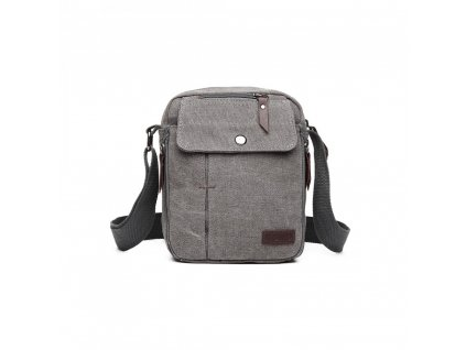 Pánska crossbody taška cez rameno Pocket Grey - sivá
