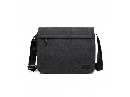 Pánska taška Gorney messenger - čierna