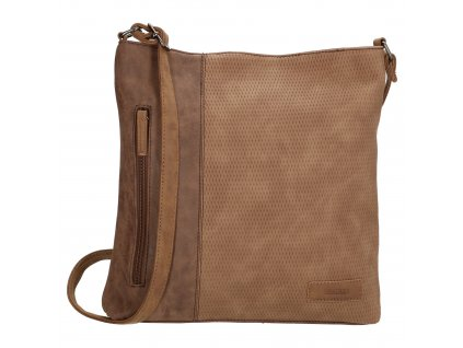 Crossbody taška Beagles Brunete - hnedá