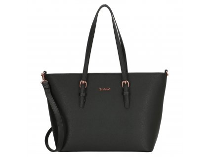 Elegantná kabelka London Marantes Charm - čierna