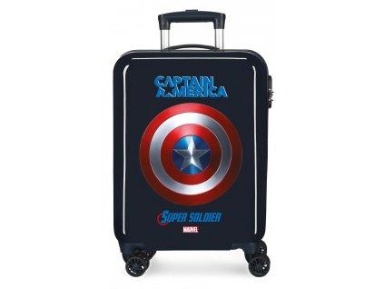 Kabínový kufor na koliesklach Capitain America Marvel