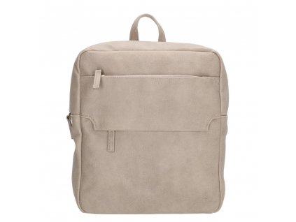 Dámsky batoh Coluns Beagles - svetlo sivý