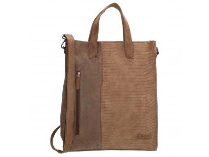 Dámska taška shoperka Beagles Brunete - hnedá