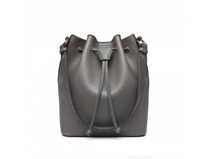 Sofistikovaná sivá kabelka Adel