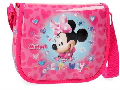 Taška cez rameno Minnie Help Way