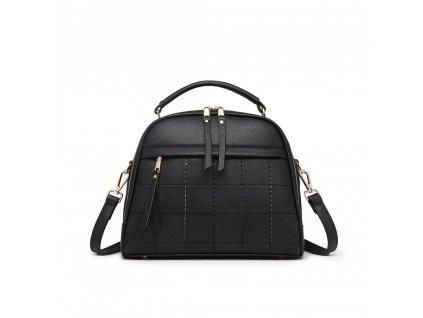 Štýlová elegantná kabelka Camilla - čierna