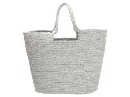 Veľká plážová taška PE-Florence Sunset - sivá