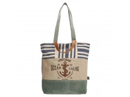 Taška shopperka PE-Florence Vintage Ocean Sailing