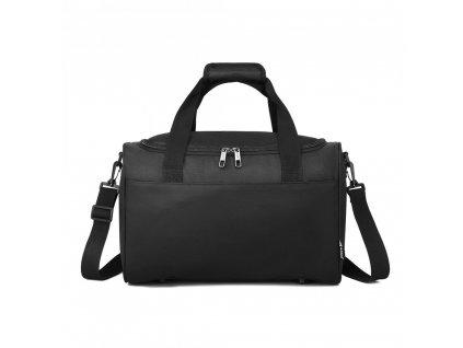 Príručná cestovná taška KONO Oxford - čierna
