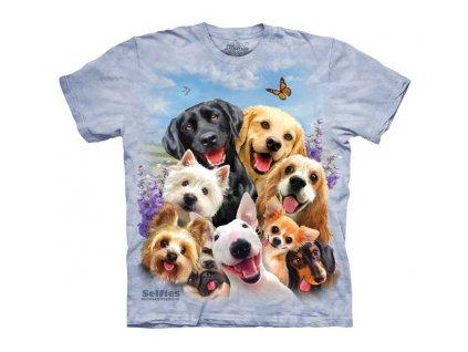 Detské tričko Selfie - Psi a hafani