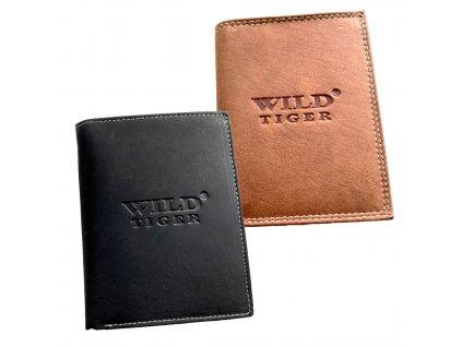 Peňaženka bez pracky WILD kožená